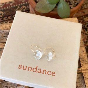 Sundance Clear Cut Earrings